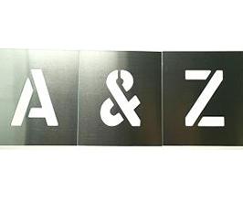 Zinc Stencils