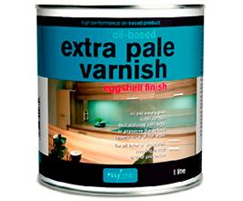 Polyvine Oil Based Extra Pale Eggshell Varnish