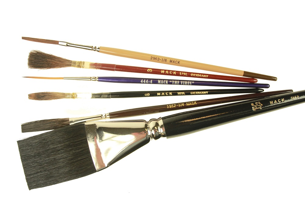 """MACK"" Signwriting Brushes"