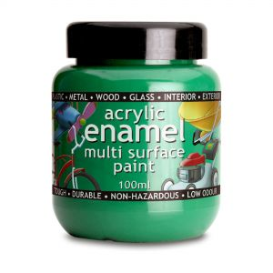 100ml Polyvine Acrylic Enamel Paint