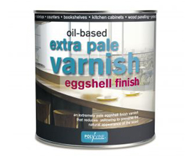 Extra Pale Eggshell Varnish - Oil Based