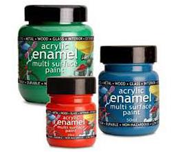 Polyvine Acrylic Enamel Paint