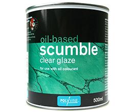 Polyvine Oil Based Scumble Clear Glaze
