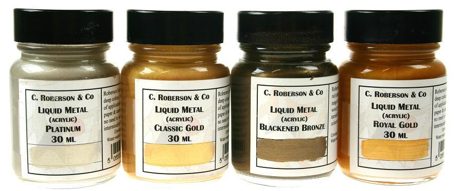 5 Litre Roberson Acrylic Liquid Metals