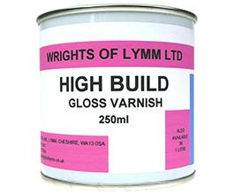 High Build Gloss Varnish