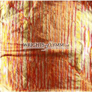 Red Sunset Variegated Transfer Leaf