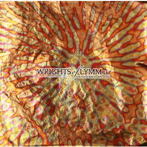 Red Chrysanthemum Variegated Transfer Leaf