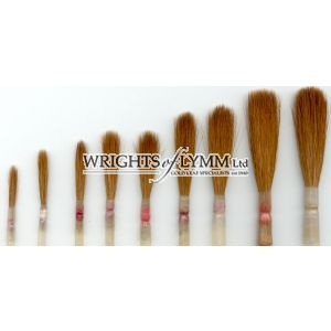 Set 0 to 10 Sable Pointed in Quill & Brush Tin