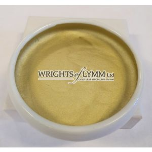 18ct 0.4 gram Shell Gold in Ceramic Pot