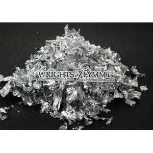 Imitation Silver Flakes - 50 grams