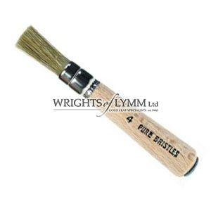 6mm White Bristle Stencil Brush