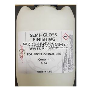 1 Litre Water Based Lacquer for Metal Leaf - Semi-Gloss