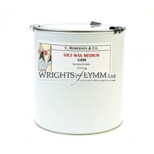 1 Litre Gilt Wax Medium