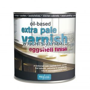 1 litre Extra Pale Eggshell Varnish - Oilbased