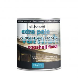 500ml Extra Pale Eggshell Varnish - Oilbased