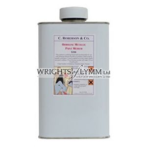 1 Litre Ormoline Metallic Paint Medium