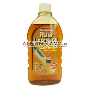 500ml Raw Linseed Oil