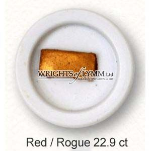 22.9ct Rouge 1/4 Pan Shell Gold