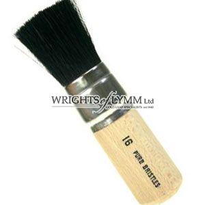 38mm Black Bristle Stencil Brush