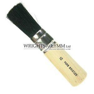 19mm Black Bristle Stencil Brush