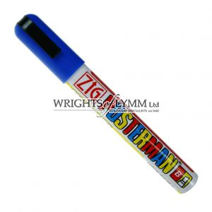 Blue 1mm Zig Marker