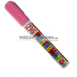 Pink 1mm Zig Marker