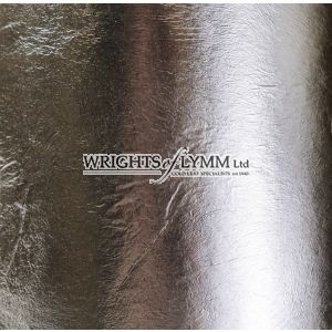 Genuine Silver SECONDS Transfer Leaf, 80mm x 80mm