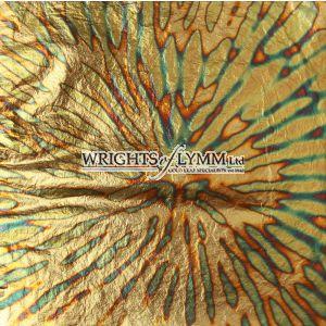 Blue/Green Chrysanthemum Variegated Transfer Leaf