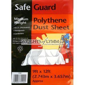 12ft  x 9ft Polythene Dust Sheet