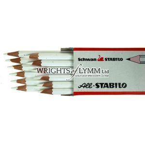 White Single Pencil