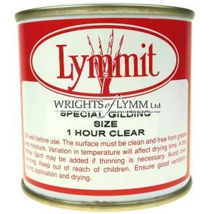 250ml Lymmit 1 Hour Clear Gold Size