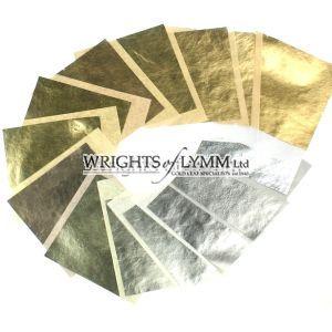 Gold Leaf Colour Chart - 21 shades