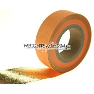 Gold Leaf Roll 23.5ct - 25mm wide
