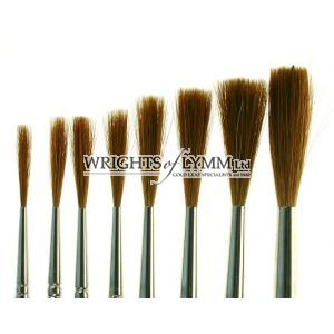 No.0 to 6 & 8 Chisel Writer Set & Brush Tin