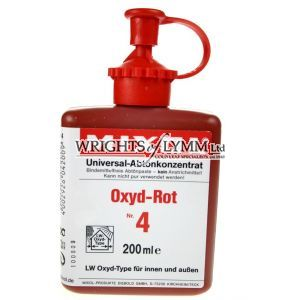 200ml Oxide Red