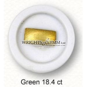 18.4ct Green 1/4 Pan Shell Gold
