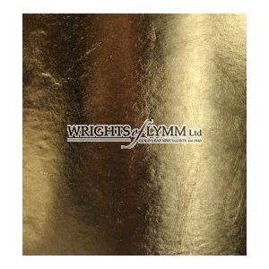 24ct Manetti Superior Transfer Gold Leaf - 25 Leaves