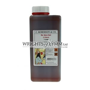 Roberson 1 Litre Oil Based Gold Size