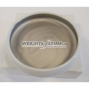 Platinum 0.4 grams Shell Gold in Ceramic Dish
