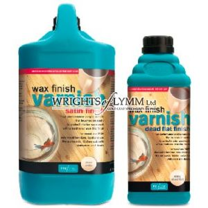 Polyvine Clear Wax Finish - 4 litre Satin