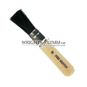 12mm Black Bristle Stencil Brush