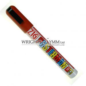 Brown 6mm Zig Marker