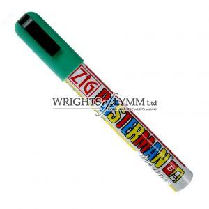 Green 1mm Zig Marker