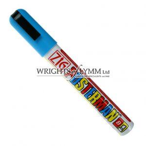 Light Blue 1mm Zig Marker