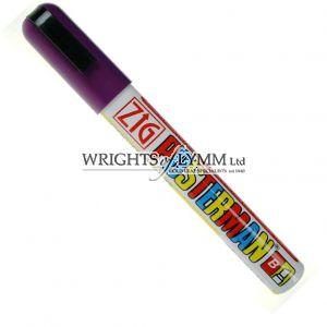 Violet 6mm Zig Marker
