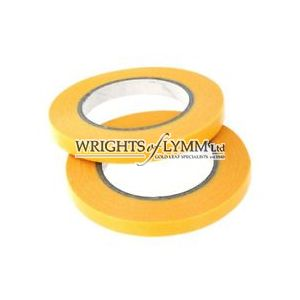 9mm Roll of Yellow Signwriters Low Tack Tape