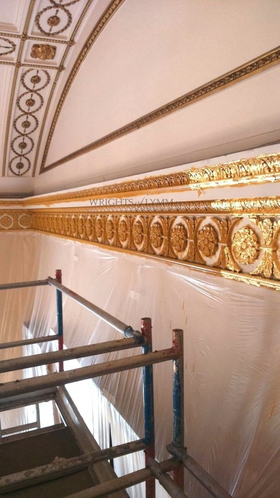 Restoration of St Georges Hall, Liverpool
