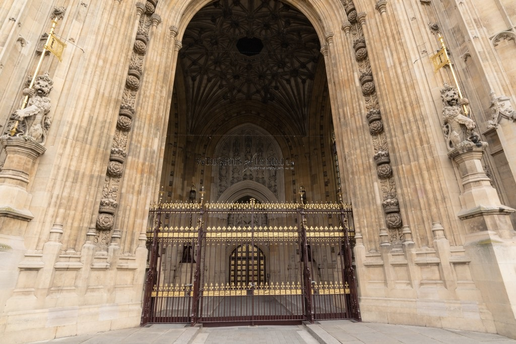 House of Parliament Golden Gates
