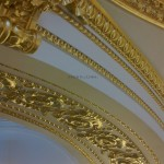 Gilded Ceiling arch