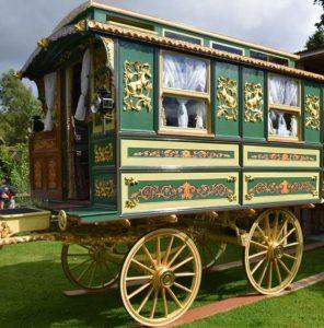 Showmans wagon restoration